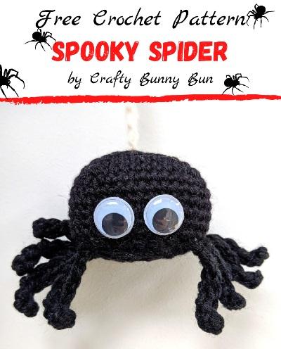 Free Crochet Pattern Spooky Spider