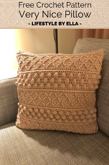 Free Crochet Pattern Very Nice Pillow