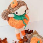 Free Crochet Pattern Zucchina Pumpkin Doll
