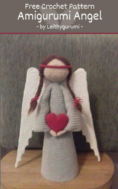 Free Crochet Pattern Amigurumi Angel