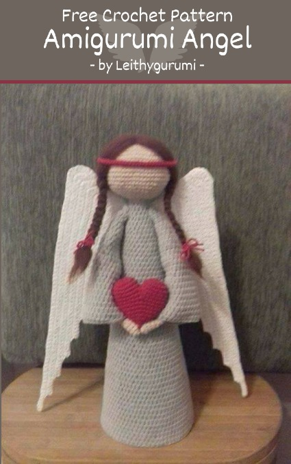 Free Crochet Pattern Amigurumi Angel