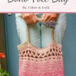 Free Crochet Pattern Boho Tote Bag