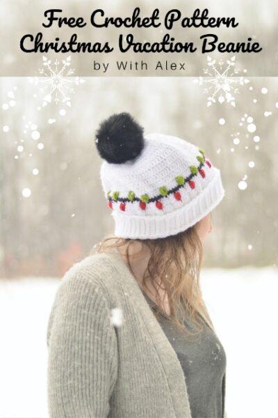 Free Crochet Pattern Christmas Beanie