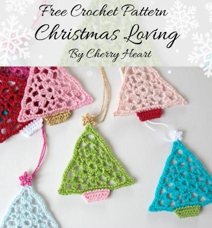 Free Crochet Pattern Christmas Loving