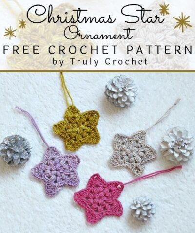 Free Crochet Pattern Christmas Star