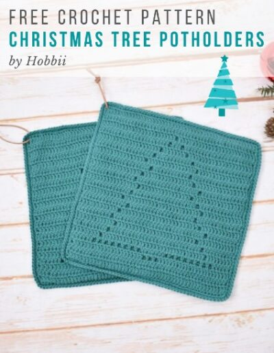 Free Crochet Pattern Christmas Tree Potholders