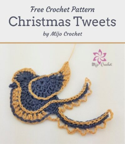 Free Crochet Pattern Christmas Tweets