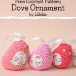 Free Crochet Pattern Dove Ornament