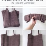 Free Crochet Pattern Foldaway Mesh Bag