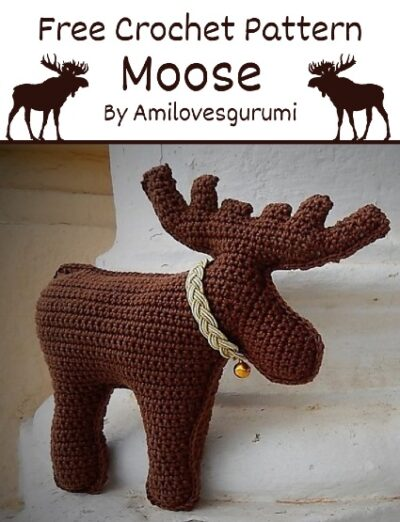 Free Crochet Pattern Moose