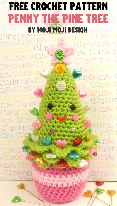 Free Crochet Pattern Penny the Pine Tree