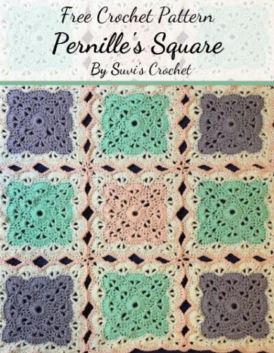 Free Crochet Pattern Pernille's Square