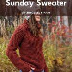 Free Crochet Pattern Sunday Sweater