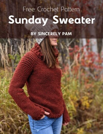 Free Crochet Pattern Sunday Sweater