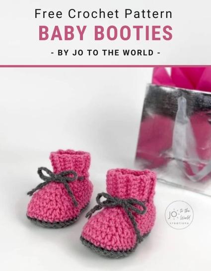 Free Crochet Pattern Baby Booties