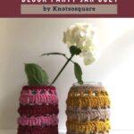 Free Crochet Pattern Block Party Jar Cozy