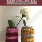 Free Crochet Pattern Block Party Jar Cozy