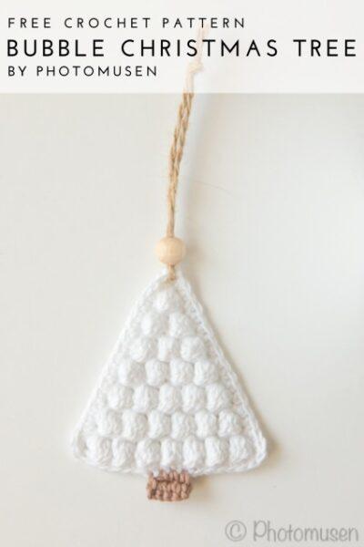 Free Crochet Pattern Bubble Christmas Tree
