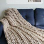 Free Crochet Pattern Cozy Winter Blanket