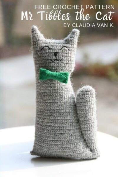 Free Crochet Pattern Mr Tibbles the Cat