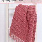Free Crochet Pattern Puff Stripes Blanket