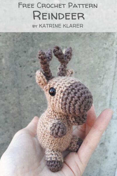 Free Crochet Pattern Reindeer