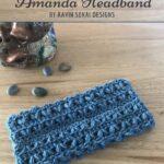 Free Crochet Pattern Amanda Headband