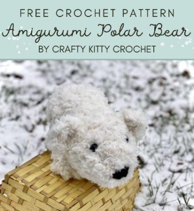 Free Crochet Pattern Amigurumi Polar Bear