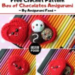 Free Crochet Pattern Box of Chocolates