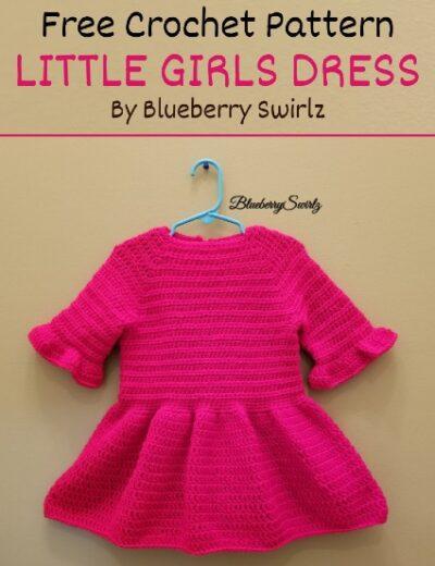 Free Crochet Pattern Little Girls Dress