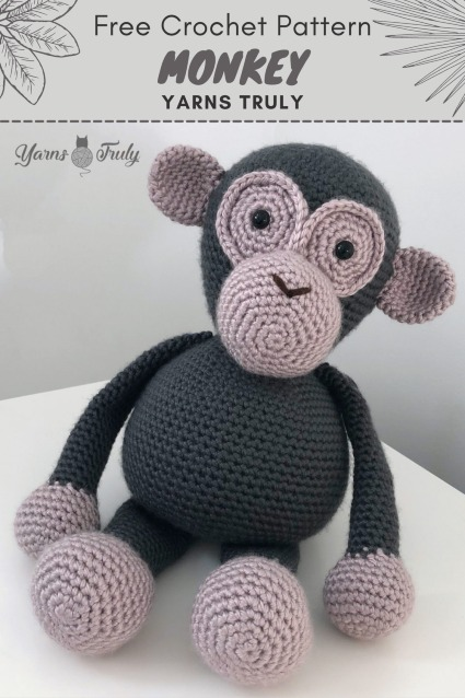 Free Crochet Pattern Monkey