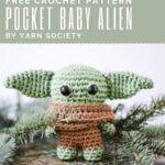 Free Crochet Pattern Pocket Baby Alien