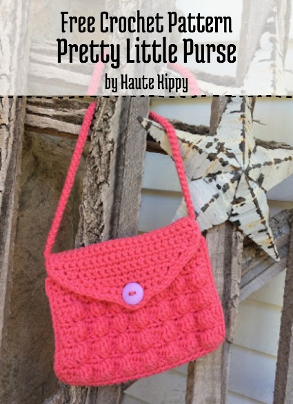 Free Crochet Pattern Pretty Little Purse