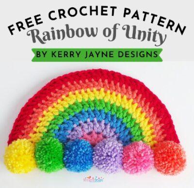 Free Crochet Pattern Rainbow of Unity