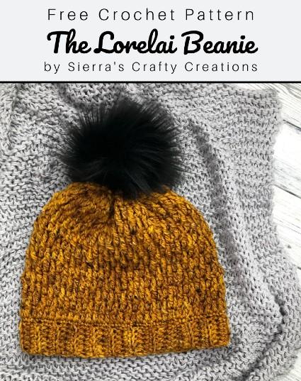 Free Crochet Pattern The Lorelai Beanie