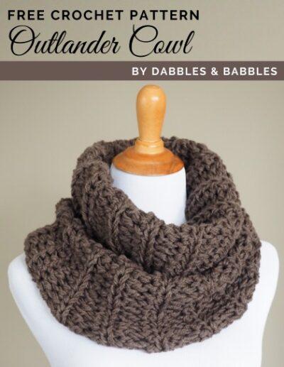 Free Crochet Pattern Outlander Cowl