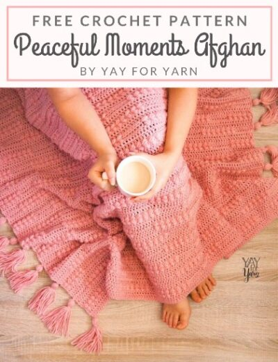 Free Crochet Pattern Peaceful Moments Afghan