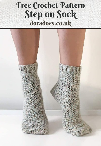 Free Crochet Pattern Step on Sock
