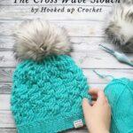 Free Crochet Pattern The Cross Wave Slouch