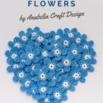 Free Crochet Pattern Tiny Blue Flowers