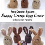Free Crochet Pattern Bunny Creme Egg Cover