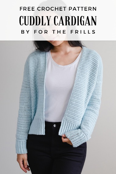 Free Crochet Pattern Cuddly Cardigan