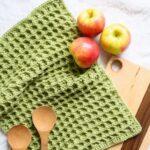 Free Crochet Pattern Dishie Towel