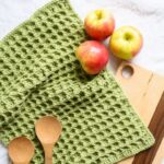Free Crochet Pattern Dishie Towel