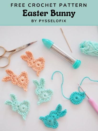Free Crochet Pattern Easter Bunny
