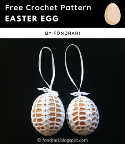 Free Crochet Pattern Easter Egg