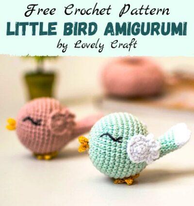 Free Crochet Pattern Little Bird Amigurumi