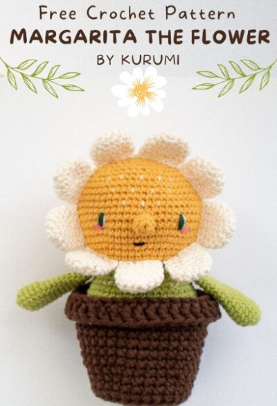 Free Crochet Pattern Margarita the Flower