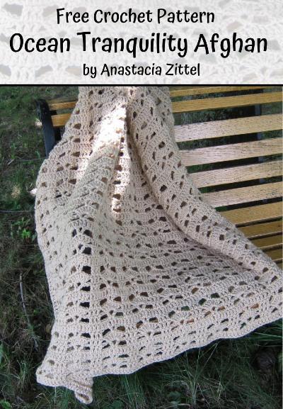 Free Crochet Pattern Ocean Tranquility Afghan