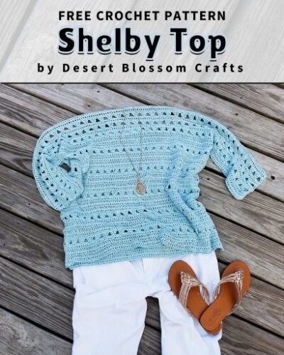 Free Crochet Pattern Shelby Top